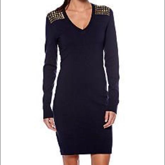 66847e47ee2 Michael Kors Studded sweater dress XXS